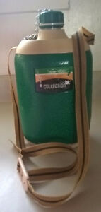 Flask Vintage Indonesia Lion Star Hunter 1000 Collection Emerald