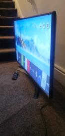 "LG TV 43"" 4k smart"