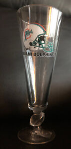 Miami Dolphins Collector Glass