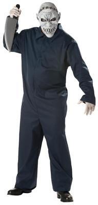 Jason Maniac Psycho Jumpsuit Adult Costume (Jason Costume)