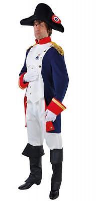 Pirat Seeräuber Freibeuter Anzug Kostüm Herren Soldat Napoleon Offizier - Freibeuter Kostüm Herren