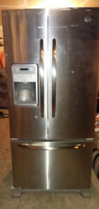 Maytag Water Dispenser French Door, Bottom Freezer Fridge