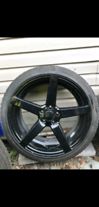 Mags Ruffino Boss 20in with summer tires