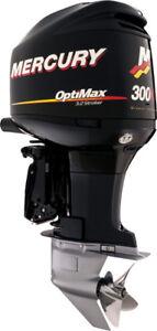 Mercury 300 XS 2009 defectueux a vendre pour pièces sans pied