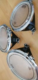 "Arbiter flats drum 10""12""14 /pearl /Mapex /Yamaha"