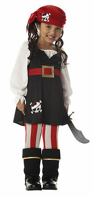 Precious Lil' Pirate Costume for Toddler 4-6 by California Costume](Pirate Costume For Toddlers)