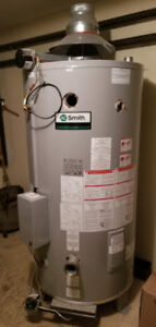 New Commercial Gas Water Heater