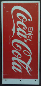 Tin Coke Sign