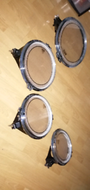 "Arbiter flats Tom's 10""12""14""16/dw /performance pro /pearl /Tama"