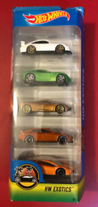 Hot Wheels Exotic Cars 5 Pack