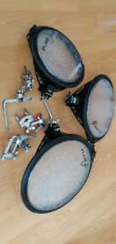 "Arbiter flats Toms 10""12""14 /pearl /Mapex /Yamaha"