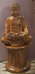 Concrete garden Buddha Statue