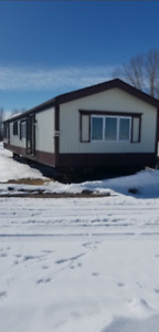 16 Wide 2 bedroom 1.5 Bathroom Mobile Home-Delivery in AB