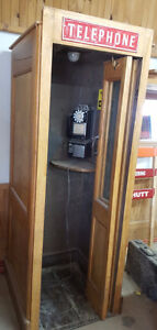 Western Electric Bell Wooden Store Public Phone Telephone Booth Kawartha Lakes Peterborough Area image 4
