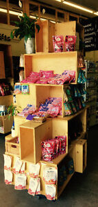Custom shelves great for retail!