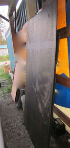 """1/8 sheet of Checker plate steel measures 48""""x 86"""""""