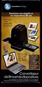 Convertisseur de films 35 mm et diapositives