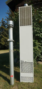 """Wall Furnace - 50,000 BTU - With 5' 6"""" Pipe"""
