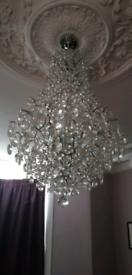 Various light fittings chandelier modern