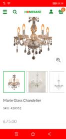 Lovely never used 5 light Chandelier