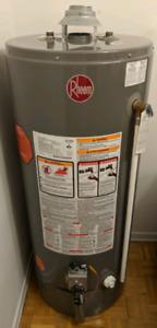 Rheem 40 gallon conventional gas water heater