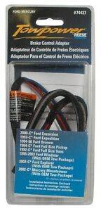 Reese Towpower 74437 Brake Control Adapter Harness Ford Mercury