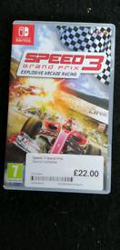 Nintendo Switch Racing Game Grand Prix Speed 3