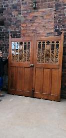 Antique Arts and crafts door.