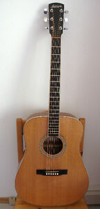 Larrivee Acoustic Guitar w pickup