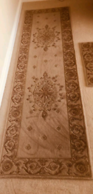 Traditional Rug and Runner