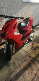 Aerox 70cc reg as 50cc
