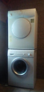 24'' small washer and dryer set
