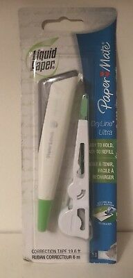 Paper Mate Liquid Paper Dryline Ultra Refillable Correction Tape 1777624