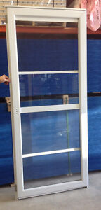 "34"" Heavy Duty Storm Door with Screen"