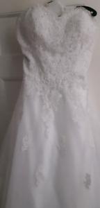 callista plus size wedding dress