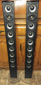 HI END ATHENA TOWER SPEAKERS IN EXCELLENT CONDITION