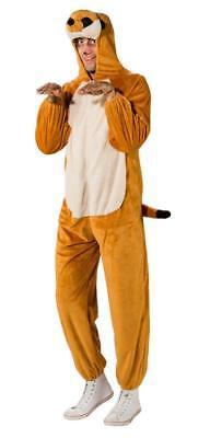 Erdmännchen Plüsch Kostüm Overall Anzug Tier Tiere Zoo Hamster - Erdmännchen Kostüm