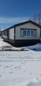 16 Wide 2 bedroom 1.5 Bathroom Mobile Home - Delivery Incl. AB
