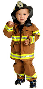 Size 3 Firefighter Costume