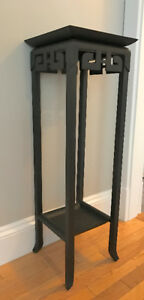 Solid Metal Plant Stand