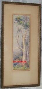 ORIGINAL CANADIAN WATERCOLOUR PAINTING, SIGNED, c1940's