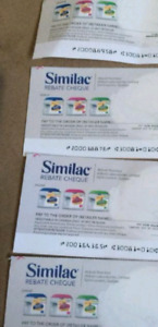 Similac cheques for trade