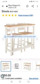 Bar table & chairs / breakfast bar