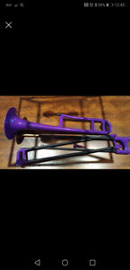 Purple P Bone kids trombone
