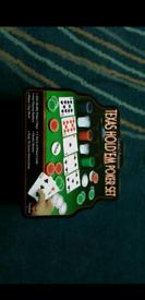 Cardinal's Pro Texas hold'em poker set (smoke-free pet-free home)
