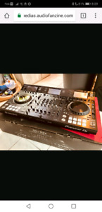 Pioneer ddj rzx with road case