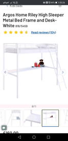 High bed with desk,bunk bed