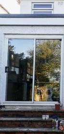 170cm x 195cm patio sliding French doors double glazed