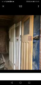 5x 1940's Doors