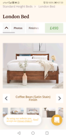 Solid wood double bed - Get Laid Beds